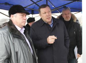 Губернатор Ростовской области Василий Голубев посетил Новочеркасск