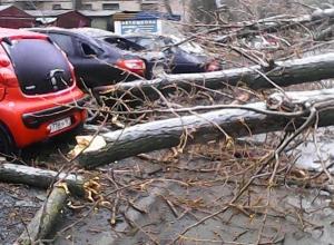 Стихия принесла разрушения по всему Новочеркасску