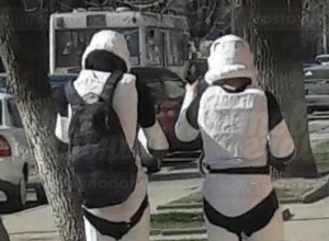 «Звездные войны» начались на улицах Новочеркасска: возможно где-то притаился Дарт Вейдер