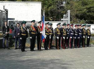 Акцию для настоящих патриотов провел в Новочеркасске Голицынский пограничный институт