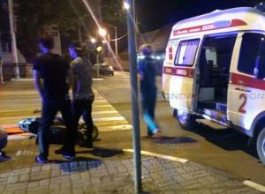 Нетрезвый водитель скутера протаранил иномарку в Новочеркасске