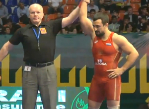 Новочеркасский борец красивыми победами помог сборной России завоевать золото Кубка Мира
