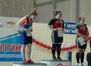 Новочеркасская спортсменка, Анастасия Немцева сала чемпионкой России по тяжелой атлетике