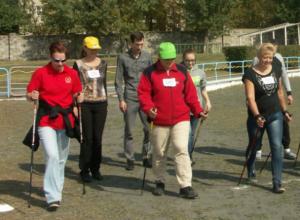 «Союз-НовоХод» - клуб активных и позитивных любителей скандинавской ходьбы Новочеркасска