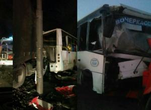 Шесть человек пострадали в жутком ДТП с участием грузовика и автобуса под Новочеркасском