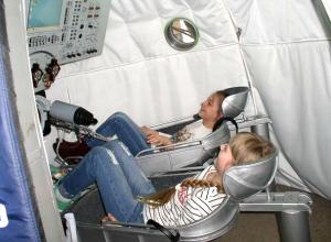 Новочеркасские школьники в День космонавтики поучаствовали в стыковке космических аппаратов