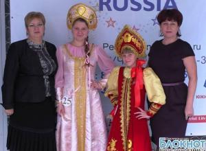 Анна Балудина и Олеся Будылева из Новочеркасска получили титулы «Третья принцесса» и «Принцесса Грация»