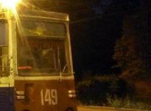 Старый трамвайный вагон едва избежал пожара в Новочеркасске