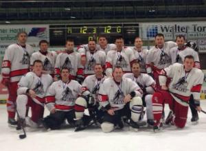 Новочеркасский хоккейный клуб «Ермак» победил «Степных волков» из Сальска