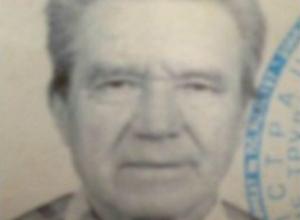 Худощавый седовласый пенсионер среднего роста c потерей памяти пропал в Новочеркасске