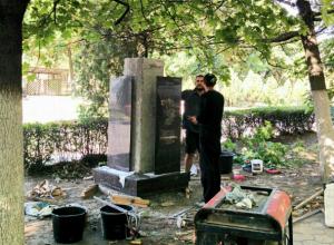 Установку памятника выдающемуся пейзажисту Логину Фрикке начали в Новочеркасске