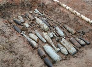 Противотанковые снаряды и гильзы времен Великой Отечественной нашли в Новочеркасске