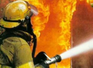 В Новочеркасске сгорел дачный дом