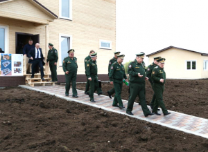 Подрядчик отчитался министерству обороны о готовности объектов новой дивизии под Новочеркасском