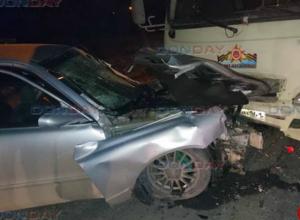 Пьяный подросток на «Мазде» протаранил маршрутку в Новочеркасске