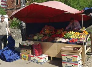 Новочеркасцев призывают не покупать продукты в местах несанкционированной торговли