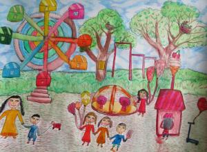 Дети Новочеркасска нарисовали «Комфортную городскую среду»