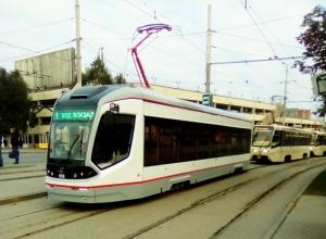 Новые трамваи в Новочеркасске выйдут на линию лишь к зиме