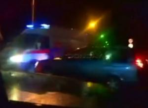 Скорую с задыхающимся малышом протаранил водитель Lada Priora в Новочеркасске