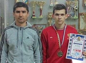 Боксер из Новочеркасска завоевал серебро на всероссийском «Кубке Спартака»