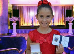 Девочке из Новочеркасска вручили орден в Кремле