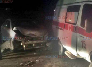 ДТП с участием скорой помощи произошло на Харьковском шоссе в Новочеркасске
