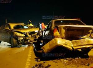 Серьезное ДТП с участием пяти автомобилей произошло на спуске Герцена в Новочеркасске