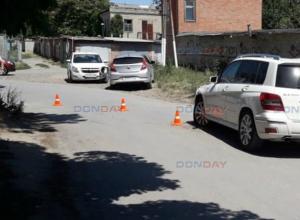 «Шевроле» не поделил узкую дорогу с «Мерседесом» в Новочеркасске