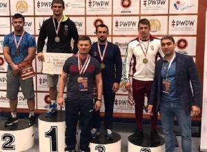 Борец греко-римского стиля из Новочеркасска завоевал бронзу международного турнира
