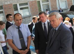 Губернатор Ростовской области Василий Голубев посетил Новочеркасск с рабочим визитом