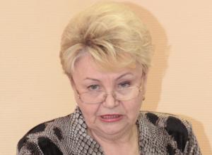 По собственному желанию уволилась начальник финансового управления Новочеркасска Валентина Гайдина