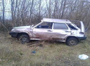 Под Новочеркасском водитель «девятки» сбил пешехода и сам едва выжил