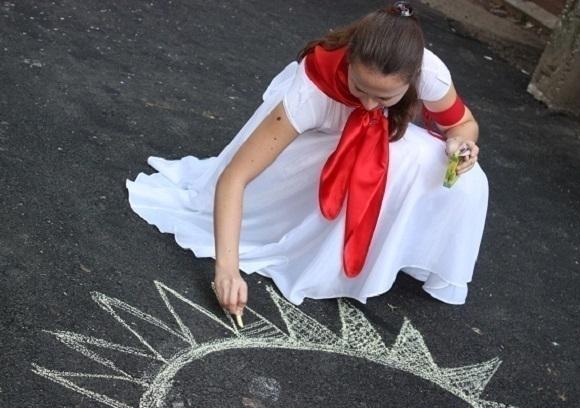 1 мая в Новочеркасске отпразднуют народным шествием, концертом и рисованием на асфальте