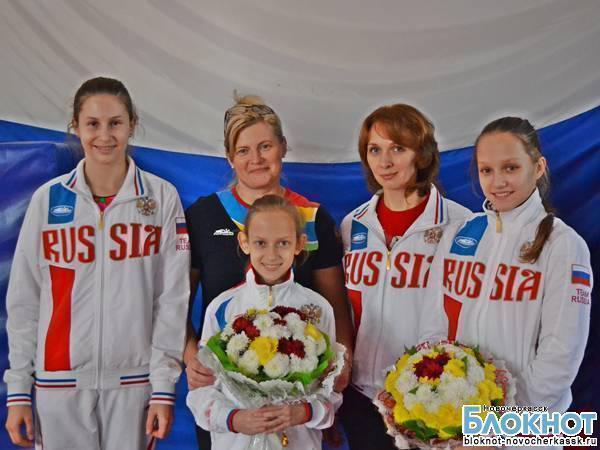 Новочеркасские акробаты заняли четвертое место на соревнованиях в Португалии