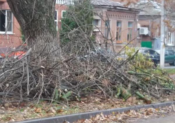 В октябре на улицах Новочеркасска убрали свыше 200 кубометров мусора