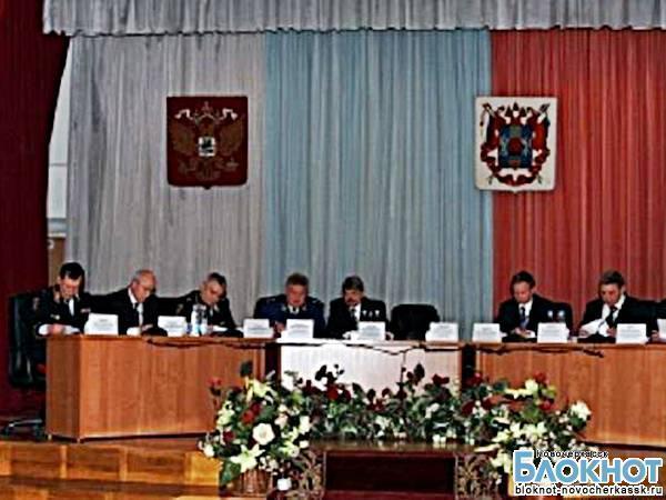Замминистра МВД провел в Новочеркасске совещание по убийству полицейских