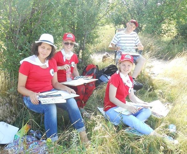 V юбилейный «Большой пленэр юных художников на Донской земле» пройдёт в Новочеркасске