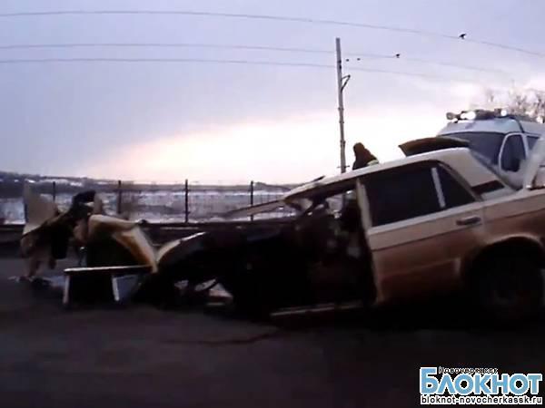 Очевидцы сняли жуткое ДТП в Новочеркасске на видео
