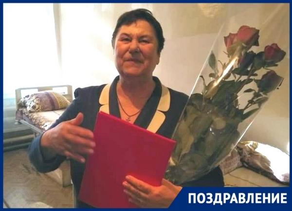 Заслуженный педагог РСФСР из Новочеркасска отметила 80-летие