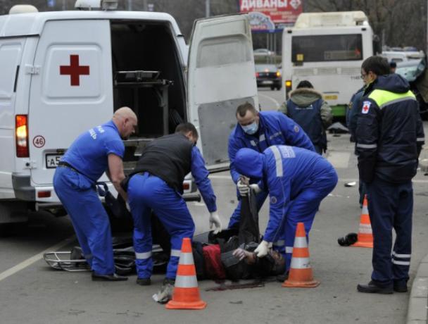 39-летний пешеход погиб в ДТП на трассе под Новочеркасском