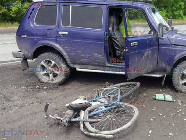 Велосипедист бросился под колеса «Нивы» на дороге в Новочеркасске