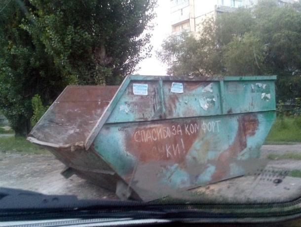 Новочеркасцы поблагодарили администрацию за «своевременный» вывоз мусора