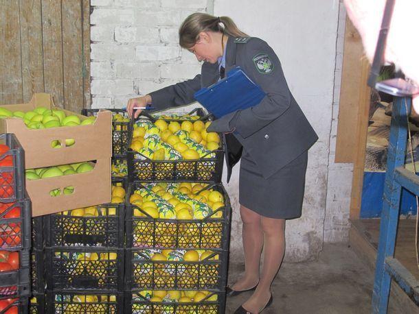 Килограммы санкционных фруктов ушли на свалку в Новочеркасске
