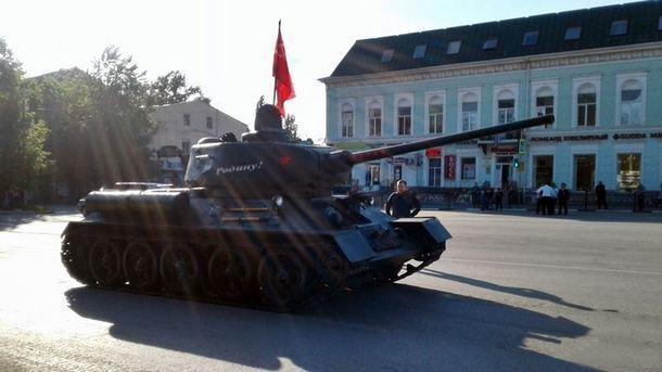 Парад Победы в Новочеркасске возглавит легендарный Т-34