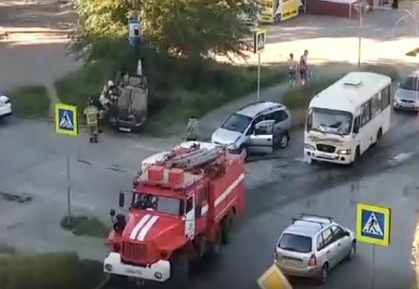 В Новочеркасске в ДТП снова пострадал несовершеннолетний