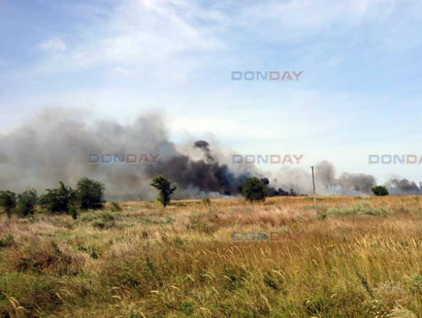 Адское пламя поглотило окраину Новочеркасска