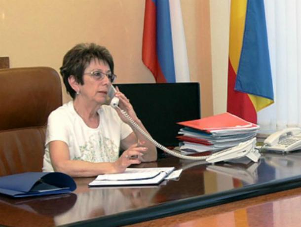 14 августа на «прямую линию» с новочеркасцами выйдет Лариса Конюшинская