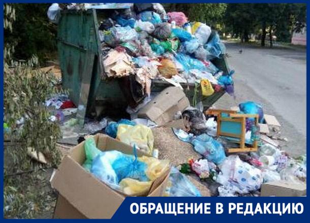 «Надоело жить в этой помойке!», - жители микрорайона Донского