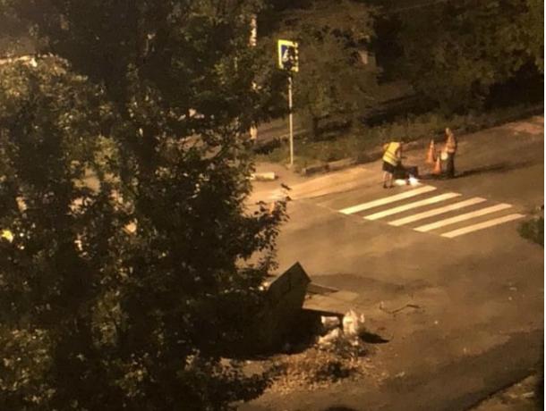 Дорожные работы в 2 часа ночи возмутили жительницу Новочеркасска