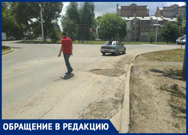 «Убогая дорога требует ремонта уже несколько лет», - новочеркасцы